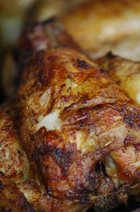 Roasted chicken: Roasted chicken