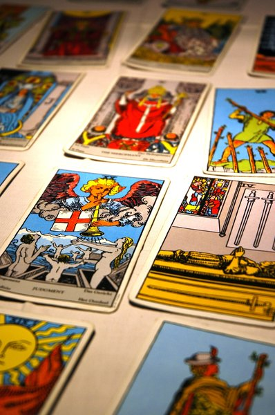 Tarot Reading 1: Tarot reading I made for my friend