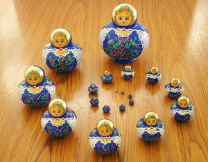 Russian Dolls: Matrioshka, 20 Russian Doll collection