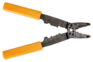Wire Cutters: Isolated picture of wire cutters.