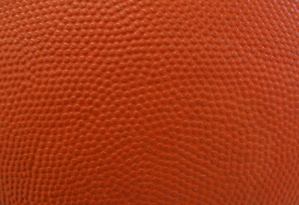 Basketball Background: Close up of a basketball for backgrounds