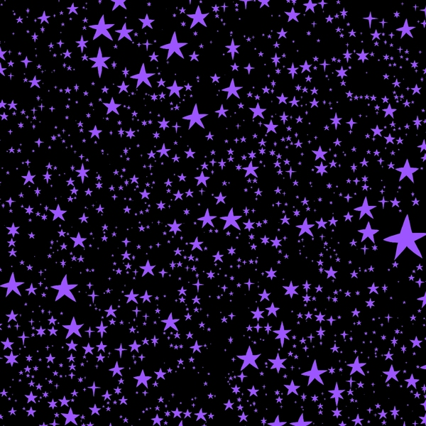 star background: Purple stars background