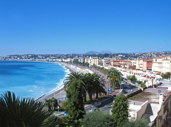 Nice, Côte d'Azur: beach of nice