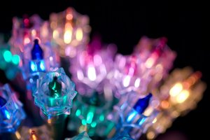 Christmas Lights: a selection of colorful Christmas fairy lights http://stockmedia.cc