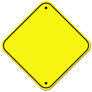 Blank Signs 2: Stop & Caution