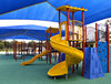 children's playground: sheltered children's playground equipment