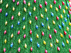 Christmas colours: Christmas tree lights and decorations