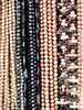 pearly beads: pearly necklaces - costume jewellery - baubles and beads