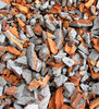 builder & tiler's rubble1: building site rubble waste