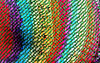 rainbow knit mesh1: multicoloured abstract background, textures, patterns, geometric patterns, shapes and perspectives