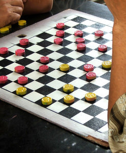 Chinese checkers: Chinese checkers games in play