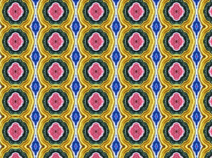colourful crepe: backgrounds, textures, patterns, kaleidoscopic patterns,  circles, shapes and  perspectives from altering and manipulating rolled crepe paper images