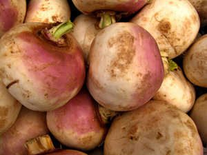 turnip purple: purple skin/surface of cleaned fresh turnips