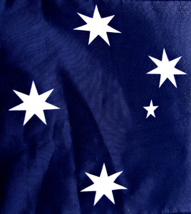 Southern Cross: portion of the Australian flag - Australian iconic symbol
