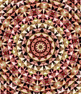 flower triangles: abstract backgrounds, textures, patterns, geometric patterns, shapes and perspectives from altering and manipulating images