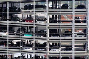 car collection: multi-storey city car park