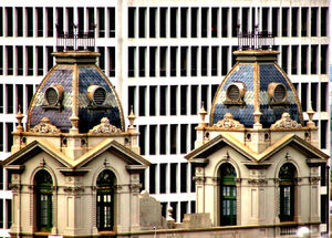 architectural contrasts6b: contrasting historic and modern architectural styles