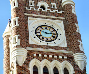 iconic clock tower2b: Perth's historic town hall clock