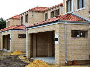 still under construction2: construction of suburban two-storey home units