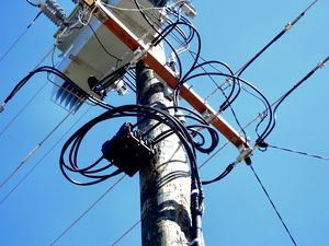 wired for power3: electricity poles, transformers and wiring
