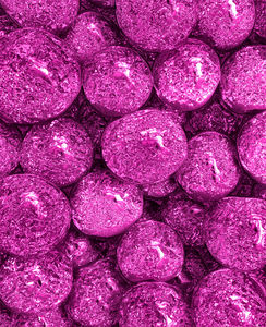 pink patterned spheres1: abstract background, texture, patterns and perspectives