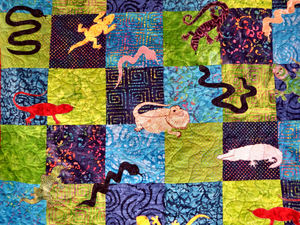 quilting corner18: quilting samples from public quilt display
