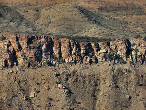 down below13: central Australian terrain seen from above