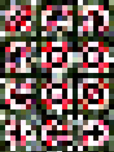square checked3: abstract background, texture, patterns and perspectives