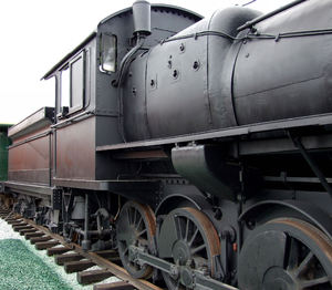steam locomotives 6bc: restored steam locomotives rolling stock