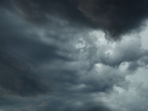 gathering storm clouds2: storm clouds in southern skies