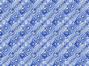 ethnic blue3C: abstract ethnic background, texture, patterns and perspectives
