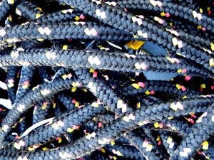 bunch of bungee straps1: bunched up bundle of bungee cords/ocky straps