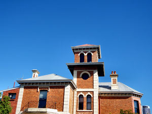 historic towered building2: tower of historic Australian building