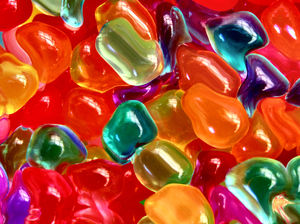 shaped jelly jubes: colourful sweet juicy jelly jubes