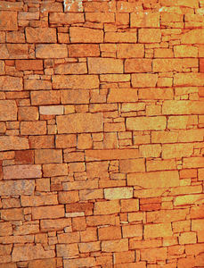 wall textures & colors2: wall in late afternoon sunset light