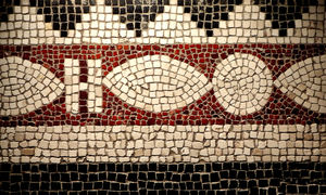 old mosaics1: basic old background floor mosaics and patterns