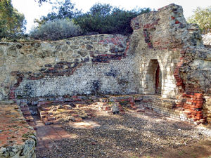 historic lime kiln remains12: remaining ruins of historic lime kilns now in secluded park