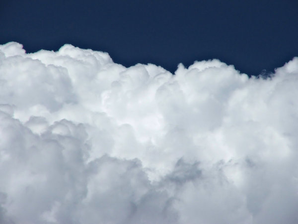 cloud formations: cloud formations in blue Southern skies