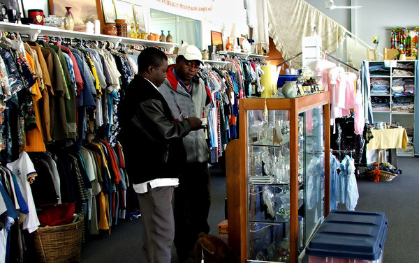 to buy or not to buy: customers considering purchases in a charity-opportunity shop