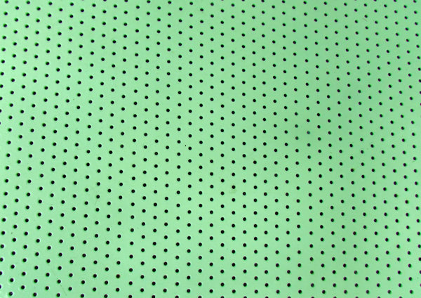 perforated surface1: large flat perforated enameled surface
