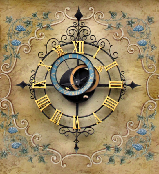 alternative time: unusual and decorative outdoors tower clock