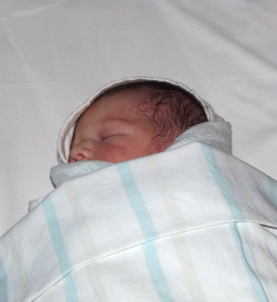 wrapped arrival3: well wrapped newborn baby