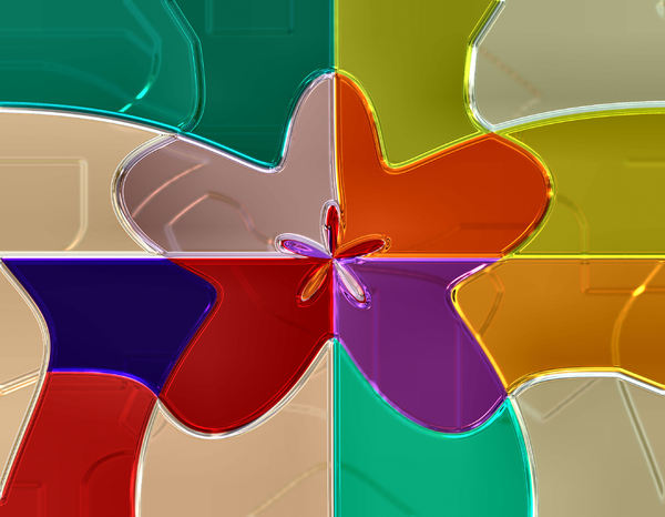 plastic squared jigsaw pieces2: colourful abstract jigsaw background, textures, patterns, geometric patterns, shapes and perspectives