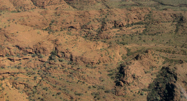 inland terrain 7-05: central Australian terrain seen from above