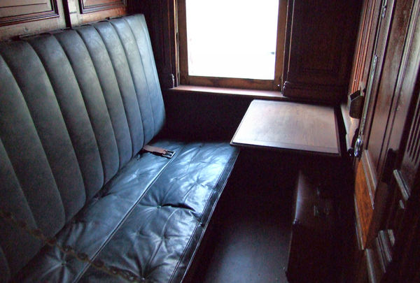 sleeping compartment4: dark compartment in long journey railway sleeping carriage