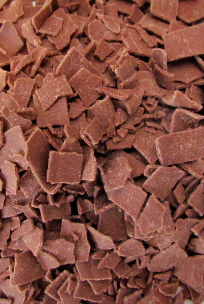 chocolate flakes3: milk chocolate flakes for desserts and sandwich toppings