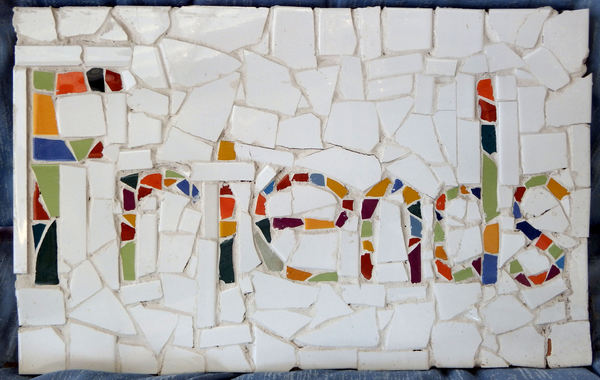 friendly mosaics3: basic background mosaics with words