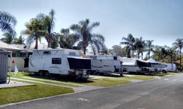 camp & caravans10: camping and caravan holiday resort with caravan bays and facilities