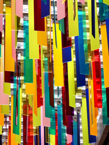 strip ceiling3: colorful suspended acoustic ceiling strips