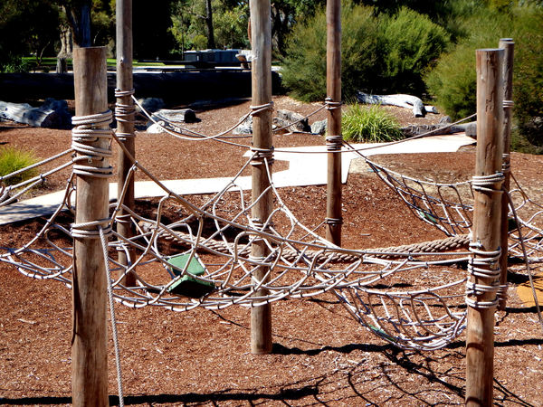 climbing ropes & nets2: children's public adventure park climbing ropes and nets